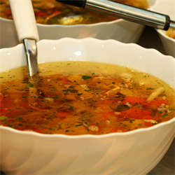 Picture of Sweet Potato Minestrone Soup