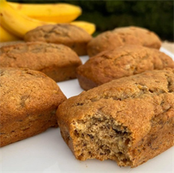 Picture of GLUTEN FREE BANANA BREAD